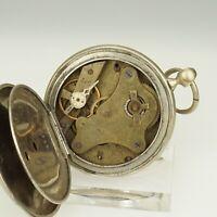 Rare! Schlüssel Taschenuhr Herren Uhr Uhren no spindel chronometer armbanduhr