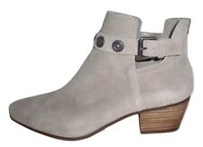 Nine West Lorao ankle boot western bootie dk taupe suede leather 11 Med NEW