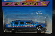 Hot Wheels 1997 Biff! Bam! Boom! Series #2/4 Limozeen -Moneyed Madness!