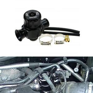 Black 25mm Dual Port Splitter Blow Off Turbo Bov Valve Dump Valve For Car Auto
