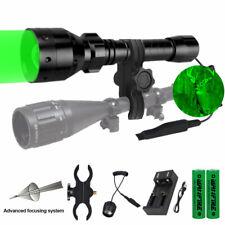 500 Yards Green Red light LED Varmint Predator Coyote Hog Pig Hunting Flashlight