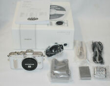 NEW Olympus PEN E-PL8 Digital Camera Body - White (body only)