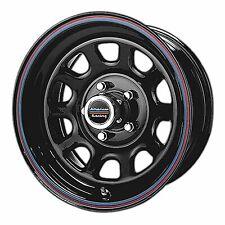 American Racing 15x7 AR767 Wheel Gloss Black Steel Red Blue 6x5.5/6x139.7 +0