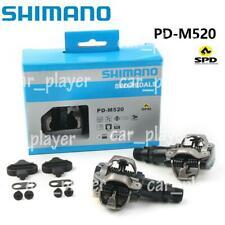 Shimano PD-M520 SPD MTB Mountain Bike pedal Clipless Cycling Pedals CPL