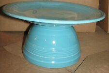 Fiesta® Dinner Ware, Cake Stand, Display Stand, Hostess Stand, Turquoise Blue