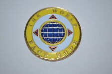 """CIA CENTRAL INTELLIGENCE AGENCY CHALLENGE COIN """"THE WORLD FACT BOOK""""DEA FBI RARE"""