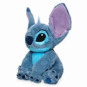 "New Disney Store Authentic Exclusive Lilo & Stitch Plush Toy Doll 15"" H Alien"