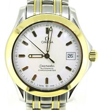 Omega Seamaster Automatic Chronometer 18k Gold & Stainless Steel Watch 36 MM