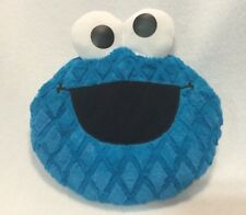 Cookie Monster Baby Plush Head Pillow Sesame Street Blue Baby Talking