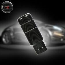 Universal Ms Mazdaspeed Carbon Fiber Aluminum Manual Gear Shift Knob Shifter 9cm