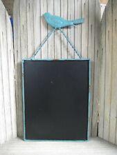 Rustic Blue Bird Chalk Board