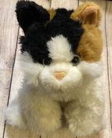 "2002 Commonwealth Calico Kitty Cat Plush Stuffed Animal Soft Toy Kitten 14"""