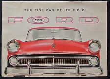 THE FINE CAR OF ITS FIELD '55 FORD Specification Folder - FAIRLANE -  FD-7525