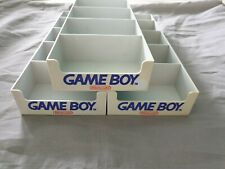 Lot of 3 / 3 Stück: Nintendo Gameboy Schuber (grau) / Tray Vitrinenschuber Case