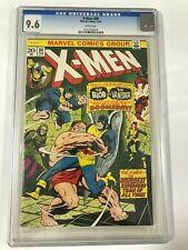 X-MEN # 86 CGC 9.6 - Very High Grade Gem ..!! Highest in my collection -