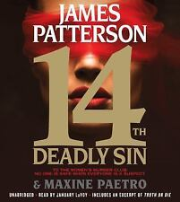 New Audio Book 14th Deadly Sin by James Patterson Abridged Women's Murder Club