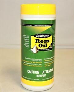 "1~Rem Oil Wipes~60 Count 7""x 8""~Gun~Remington~Lubricant~Cleaner~Firearm~19918"