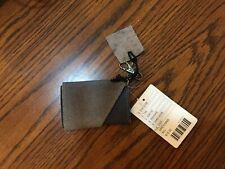 Urban Outfitters BDG Gray Suede Leather Wallet ID Holder Runners Athletic NWT