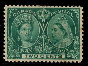 #52 Jubilee  2c Canada mint