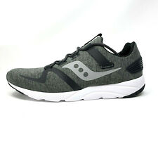 Saucony Grid 9000 Mod Grey Black Gray Men's 11.5 Running Shoes Sneakers New