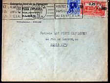 ALGERIE  1939  LETTRE   ENVELOPPE     165CA44