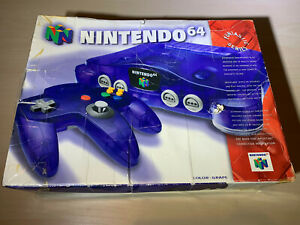 Nintendo 64 N64 Grape Purple Game System Brand New