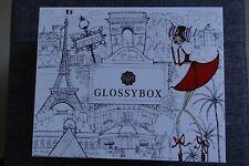 Glossybox October 2015 Vive la France box Empty Box Only