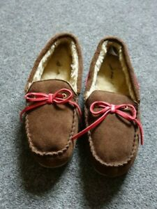 Joules Ladies/Mens Suede Frampton Moccasin Slippers/Loafers Size 8, Unworn