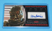STAR WARS TOPPS RETURN OF THE JEDI 3D WIDEVISION BOSSK AUTOGRAPH CARD