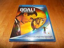 GOAL THE DREAM BEGINS Kuno Becker Soccer Sport Sports Drama BLU-RAY DISC NEW