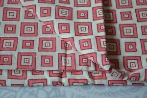 Running Fabric  50 Yard Indian Cotton Hand Block Printed Handmade Print_710