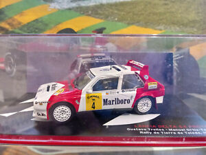 "1/43 Lancia Delta S4 WRC gustavo Trelles 1988 ""Marlboro - Camel"" RARE"