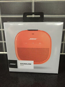 Bose SoundLink Micro MP3 Speaker/ Orange - New (other) - Get ready for Summer!