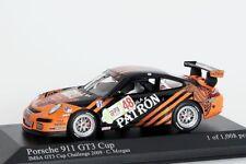 PORSCHE 911gt3 Cup C. MORGAN IMSA gt3 Challenge 2009 Minichamps 1:43 Nouveau/Neuf dans sa boîte