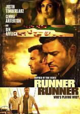 Runner Runner (DVD, 2014)  Ben Affleck / Justin Timberlake Arterton
