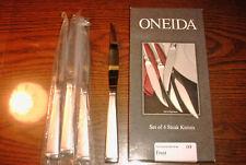 Oneida FROST 18/8 Stainless Steel Flatware 4 piece Steak Knife Set