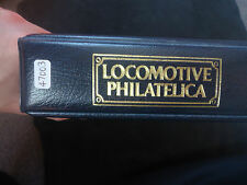 Locomotive philatelica album 1829-1983 200 + double train timbres neuf sans charnière
