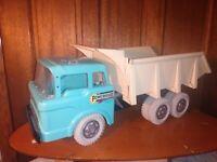 1950's Marx Pressed Steel Dump Truck **Extra Nice**