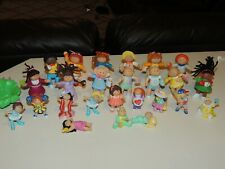LOT OF 25 VINTAGE 1984 ADORABLE CABBAGE PATCH KIDS MINI FIGURES