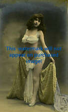 VINTAGE Antique BEAUTIFUL BELLY DANCER Photo REPRINT