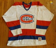 VINTAGE CCM NHL MONTREAL CANADIANS ROY #33 HOCKEY JERSEY Large