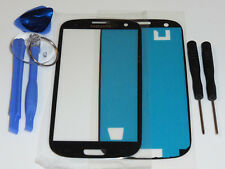 SAMSUNG GALAXY S3 i9300 i9305 FRONT GLAS TOUCH SCHEIBE TOUCHSCREEN DISPLAY BLAU