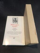[17645-PL6] Pléïade - Philosophes Taoïstes - 1980