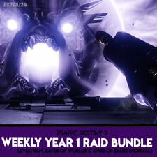 Destiny 2 - Year 1 Raid Bundle (Normal) - PC/PS4