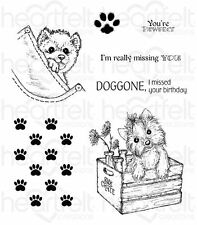 Heartfelt Creations Cling Stamp Set ~ YOU'RE PAW-FECT Pampered Pooch ~ HCPC-3761