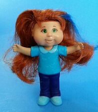 "2008 Cabbage Patch Kids REDHEAD DOLL 3.5"" FIGURE Burger King"