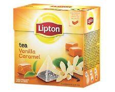 Lipton Pyramids, Vanilla Caramel 20 count FREE USA SHIPPING