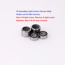 Total Bearings Kit fit Speedplay Light Action Chrome-Moly&X5 Blue Version Pedals