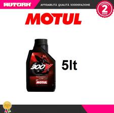 104125 5lt Olio Motul 300V Factory line 15W50 100% Sintetico 4 t (MARCA MOTUL)