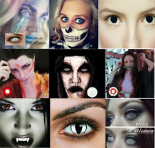 Halloween Cosmetic Horror Eye Beauty Makeup Cosplay Party Contact Masquerade